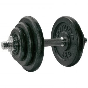 CL 235-236 DUMBBELL SET 15 OF 20 KG