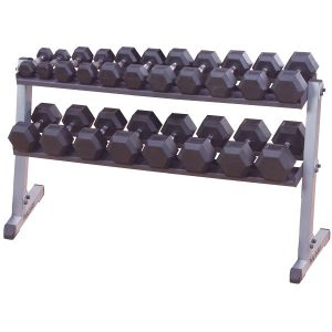 GDR60 2 TIER HORIZONTAL DUMBBELL RACK