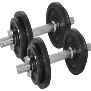 CL092 DUMBBELL SET 20 KG (2X 10KG)