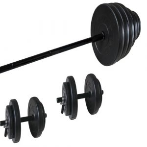 CL356 VINYL WEIGHT SET 50 KG