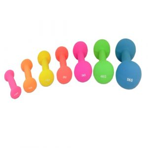 CL373-379 NEOPREEN DUMBBELLS